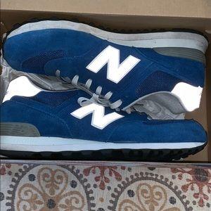 Men's new balance size 12 like new blue/gray